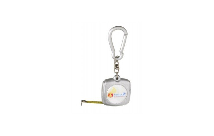 Square Tape Measure Keyring