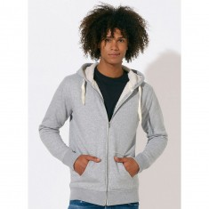 Stanley Tours Sherpa Lined Zipped Hoodie