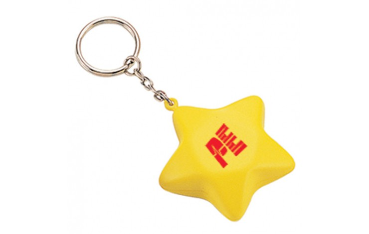Star Keyring Stress Item