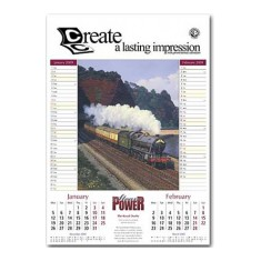 Steam Power Calendar