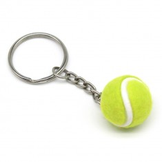 Tennis Ball Keyring