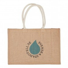 Traditional Large Jute Shopping Bag