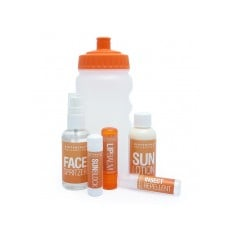 Travel Suncream & Bottle Set