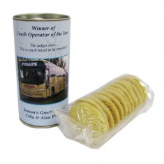Tubes of Biscuits
