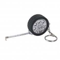Tyre Tape Measure Keyring