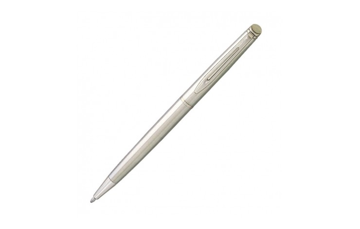 New Waterman Hemisphere Essential Steel CT Ballpen