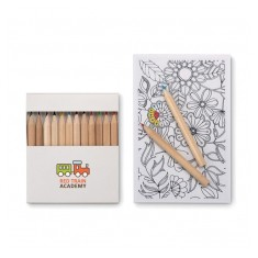 Wellbeing Colouring Set