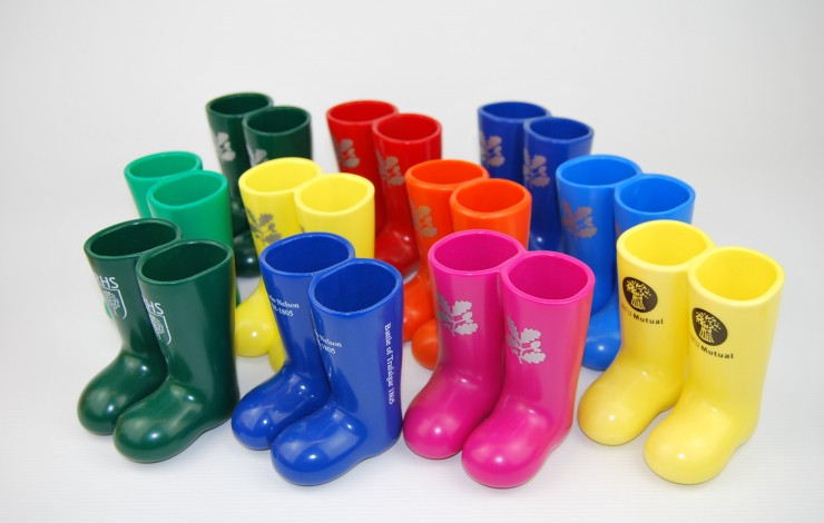 Wellington Boot Pen Pot