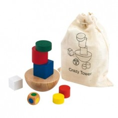 Wonky Wooden Tower Game
