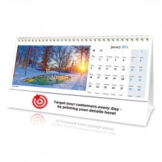 World in View Desk Calendar