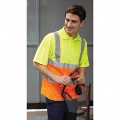 Yoko Hi Vis Short Sleeve Polo shirt