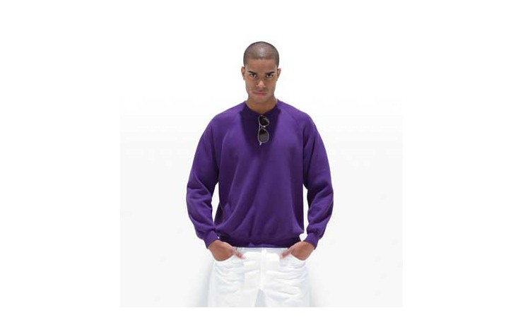 Jerzees Colours Raglan Sleeve Sweatshirt