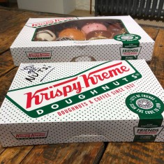 Who says Thursday's can't be a @krispykremeUK doughnut days?